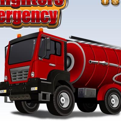 Гра Парковка Пожежної Машини