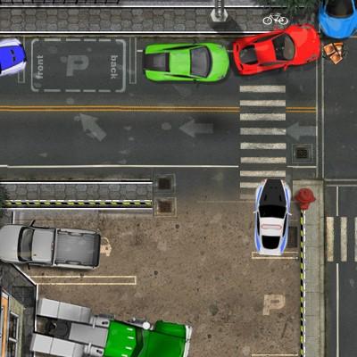 Гра Парковка Дорогих Машин при дощовій погоді
