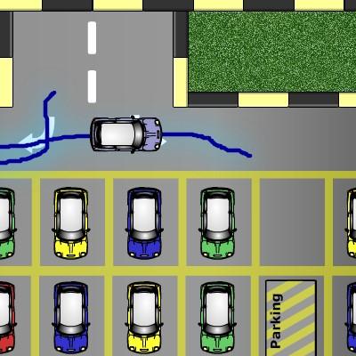 Гра Парковка по лінії: Від авто до місця стоянки
