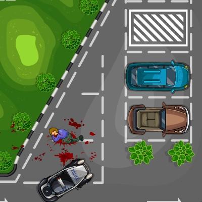 Гра Парковка Машини Поліції