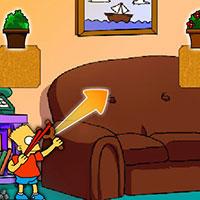 Гра Сімпсони: Стрільба з рогатки