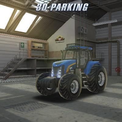 Гра Парковка Трактора 3д
