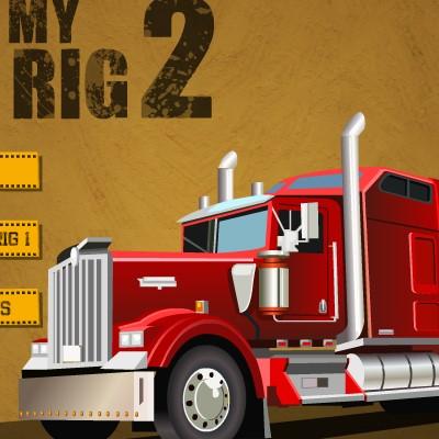 Гра Парковка Важкої Вантажівки: Далекобійник 2