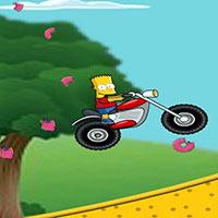 Гра Сімпсони: Барт ганяє на мотоциклі