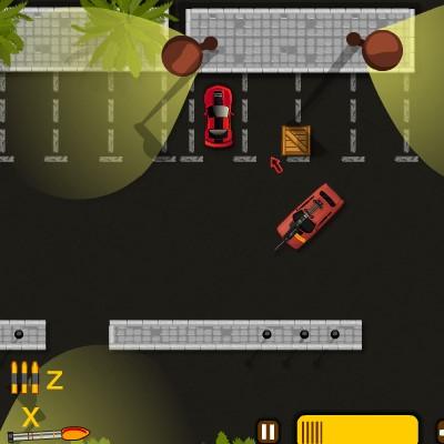 Гра Втеча з Парковки зі стріляниною