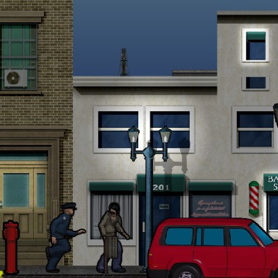 Гра Паркур: Втеча від поліції