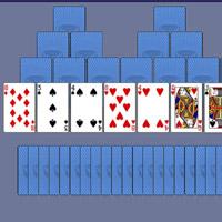 Гра Пасьянс Солітер: 3 Піки