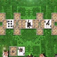 Гра Пасьянс за рівнями: Кішки