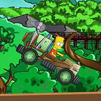 Гра Сімпсони на саморобній машині