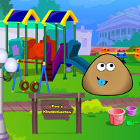 Гра Переробки Дитячого Садка: малюк Поу