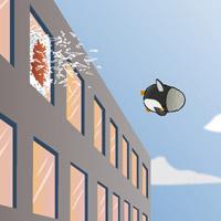 Гра Пінгвін вчиться літати 2