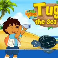 Гра Плавання Морської Черепахи разом з Дієго