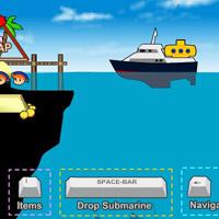 Гра плавання в морі: Пошук скарбів