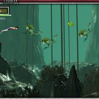 Гра плавання Гаррі Потера під водою