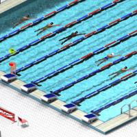 Гра Змагання з Плавання в басейні