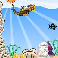 Гра Плавання під водою: Пригода Аквалангіста