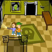 Гра Привиди в будинку: Врятувати друга Еда