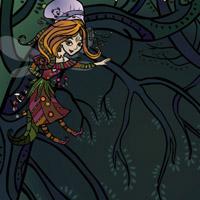 Гра на розвиток уваги для дівчаток: Феєчка в лісі