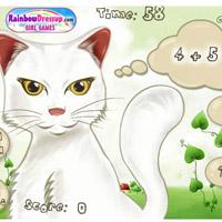 Розвиваюча гра: Котик Математик