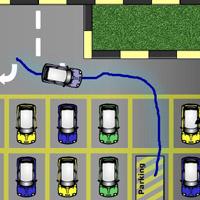 Гра Малювалка по лінії: Парковка