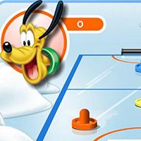 Гра Міккі Маус грає в аерохокей