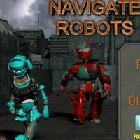 Гра Малювалка: Намалювати Маршрут роботів
