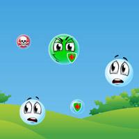 Гра Малювалка: Голодні бульбашки