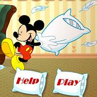 Гра Клуб Міккі Мауса: Бій подушками