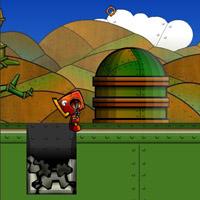Гра Паровий Робот проти ворогів