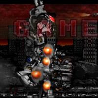 Гра Міні Робот тікає від Робота Гіганта