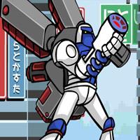 Гра Літаючий Роботор проти армії Роботів