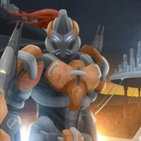 Гра Роботи Люди проти Роботів Прищельцев