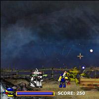 Гра Робот проти Роботів Загарбників