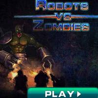 Гра База Роботів проти орди Зомбі