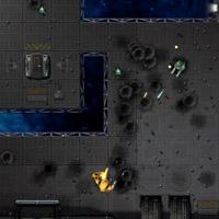 Гра Бойовий Робот: Стрілялка вид зверху
