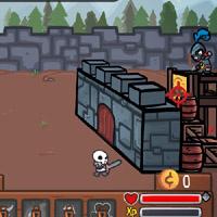 Гра Лицар: Захист Замку від монстрів