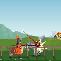 Гра Турнір Лицарів зі списами на конях