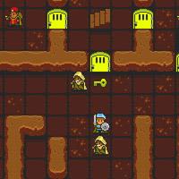 Гра Лицарі: Знайти Вихід з Підземелля