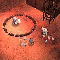 Гра Лицар 3Д вид зверху: Випробування
