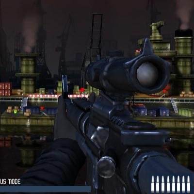 Гра Снайпер 3Д для хлопчиків: Безшумний стрілець