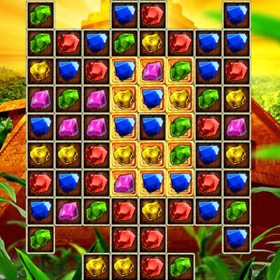 Гра Три в Ряд: Скарб Давніх Майя