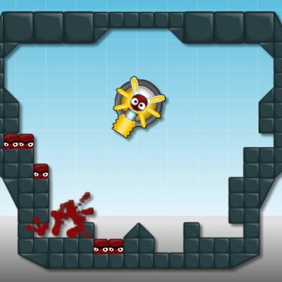 Гра Три в Ряд: Стрілянина з гармати по пазлам