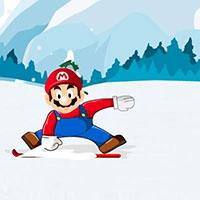 Гра Маріо катається на лижах