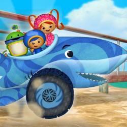Гра Умізумі: Акула Машина Гонка на пором