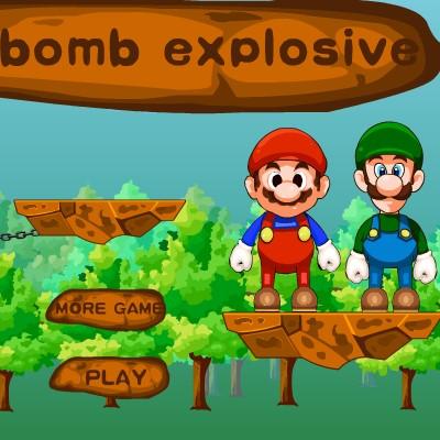 Гра на Фізику: Підрив Бомби Маріо