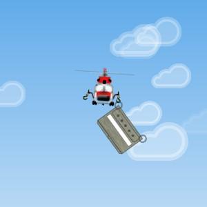 Гра Повітряний Транспорт: Перетягування вантажів