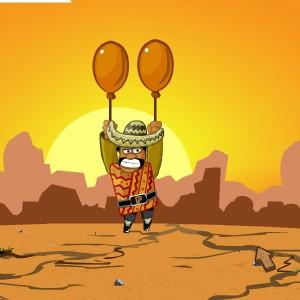 Гра на Фізику: Мексиканець на Повітряних Кульках