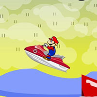 Гра Маріо - водний акробат