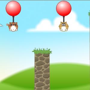 Гра Фізика: Звірятка на Повітряних Кульках