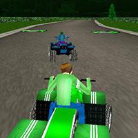 Гра Бен 10 3D гонки